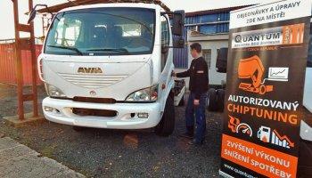 Chiptuning pro prodejce vozů Avia