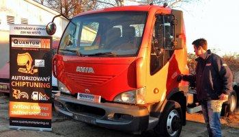Chiptuning nového vozu Avia D-Line D100 4.5D 117kW 160HP